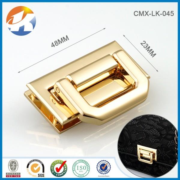 Metal Push Bag Lock