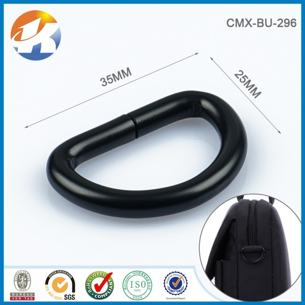 Black D Ring