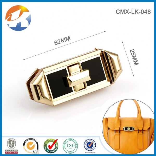 Turn Lock For Handbag
