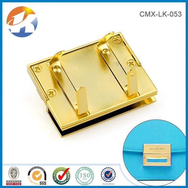 Gold Push Lock