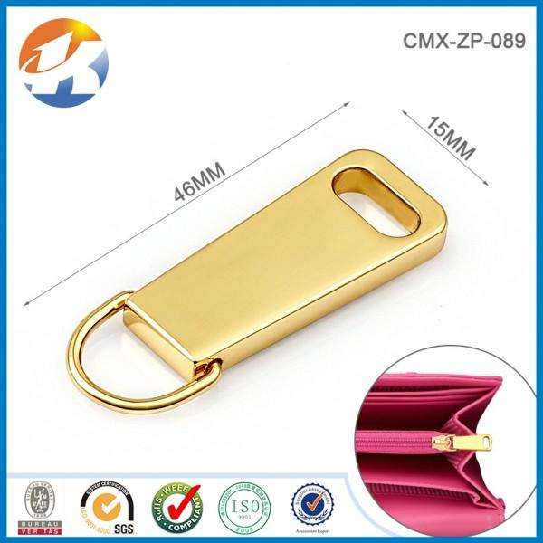 Gold Zipper Puller