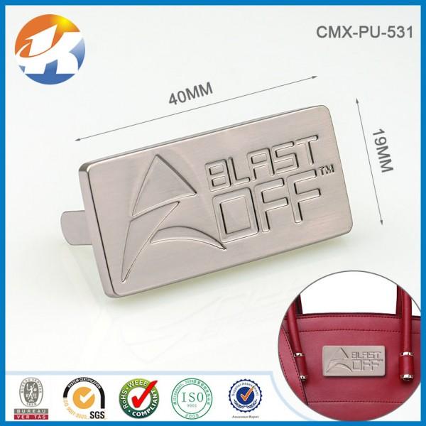 Metal Stamped Logo